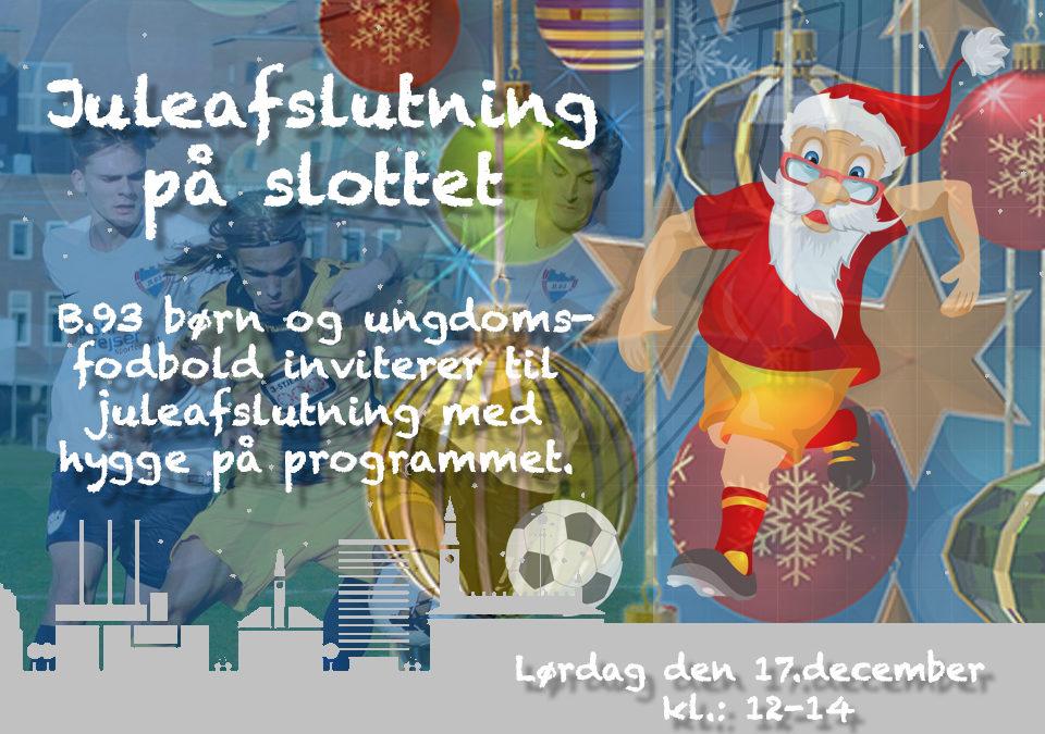 Juleafslutning i ungdomsafdelingen