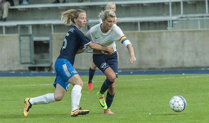 Første sejr til kvinderne i 1. division