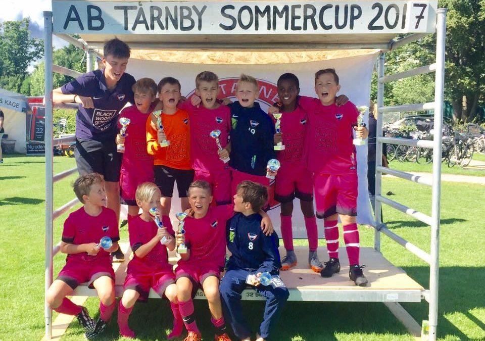 U11 Elite vinder AB Tårnby Sommer Cup
