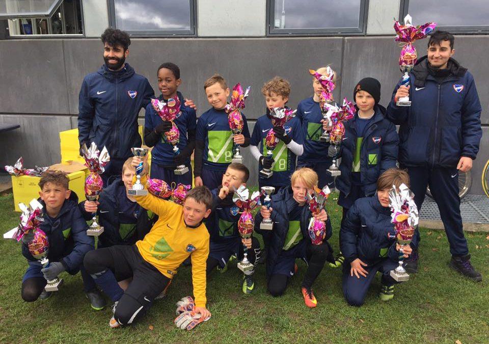 U10 vinder HIK Påskecup