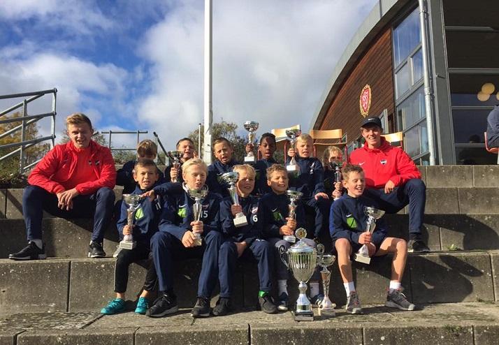 U11-Elite vinder sidste udendørsstævne