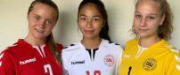 U16-landsholdssamling med tre 93'ere