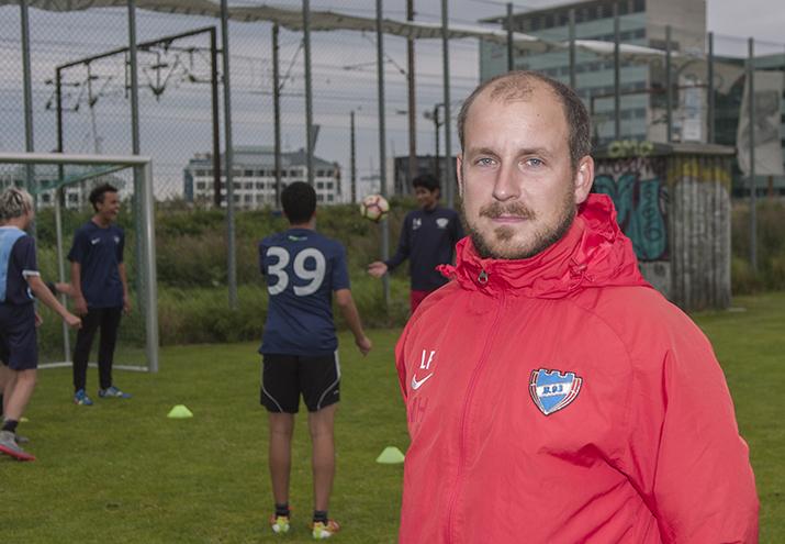 """Lasse Frølund i """"Vinklen"""""""