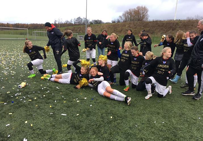 U16-piger vinder eliterække