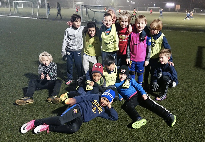 Drenge 2008 B vinder LSF Sydbank Guld Cup