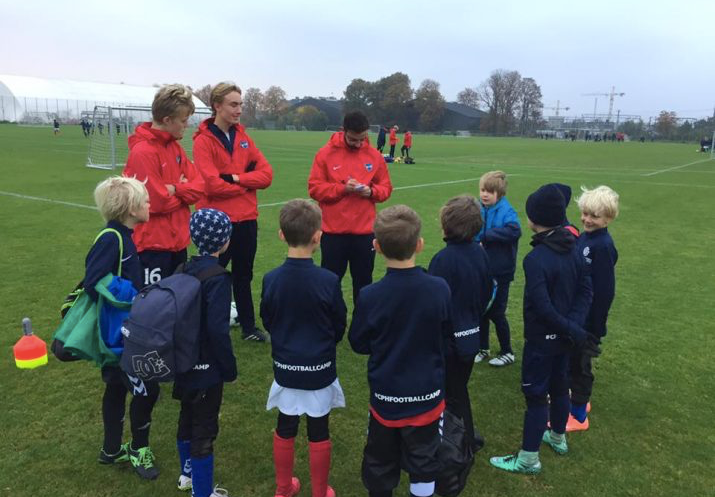 Copenhagen Football Camp i påsken