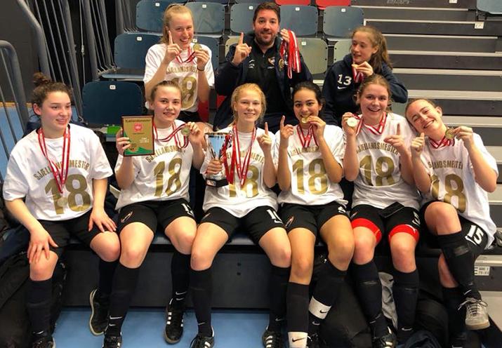U18 Piger Sjællandsmestre i Futsal