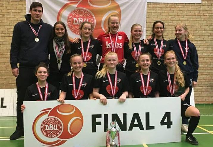 U18 Piger vinder DM i futsal