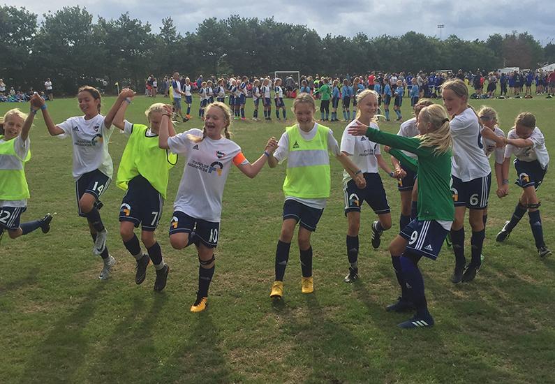 U14 Piger vinder Vildbjerg Cup