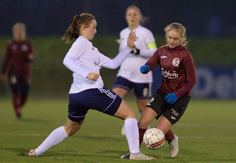 Nedtur for 3F Liga-kvinder i slutfasen
