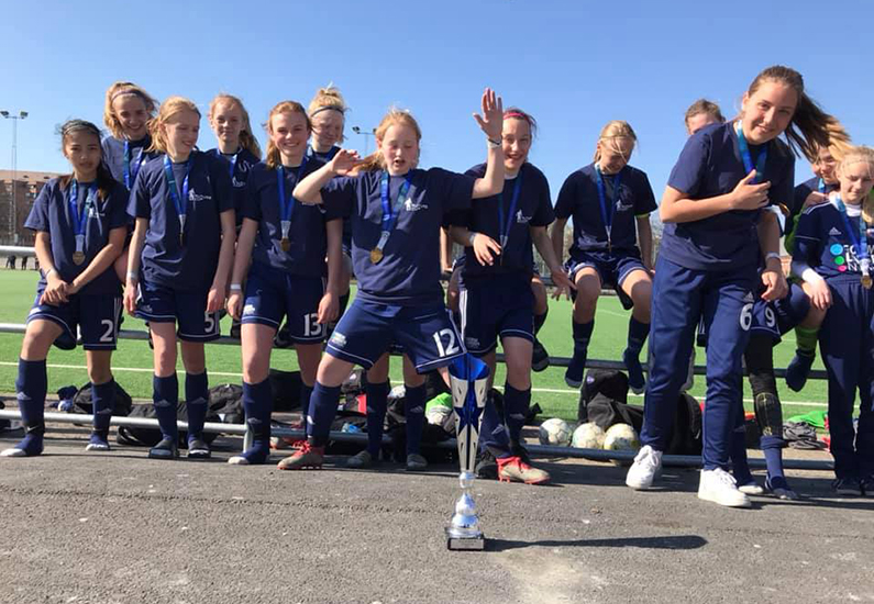 Succes for B.93-piger ved Future Cup