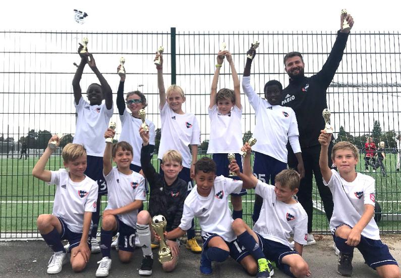 U11 vinder Novi Cup