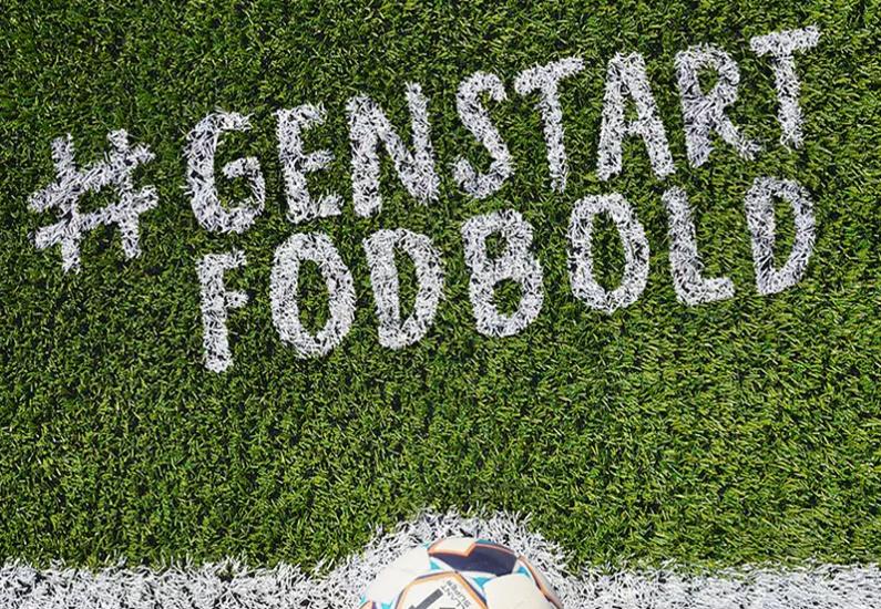 Genstart fodbold