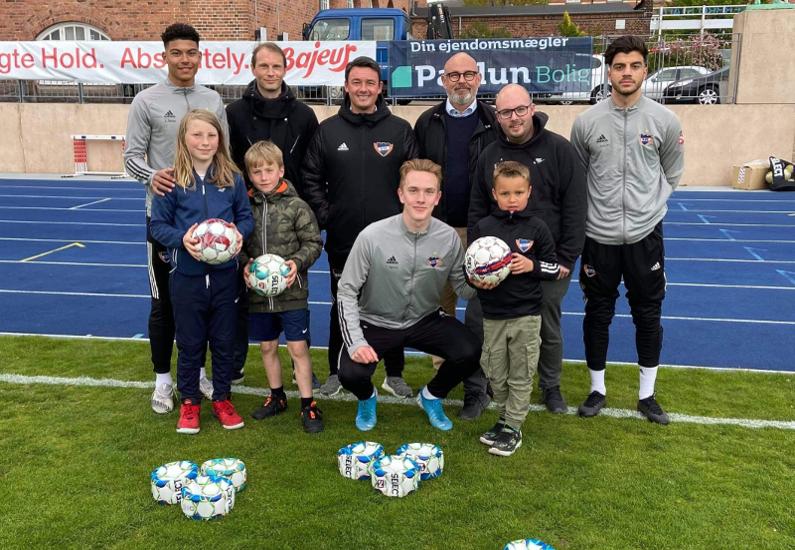 Nye bolde til Ungdomsafdelingen